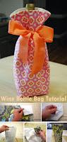 Wine Bottle Bag Tutorial