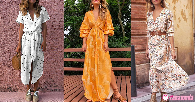 Long Casual Dresses Trends