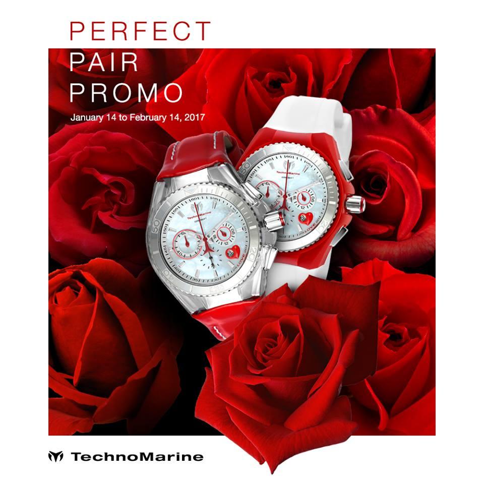 Manila Shopper TechnoMarine Valentines Promo Jan Feb 2017