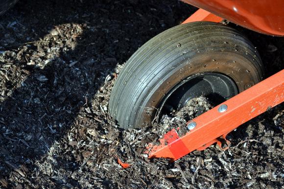 Wheelbarrow wheel: Wheelbarrow Planter | DIY Playbook