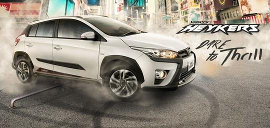 Spesifikasi Toyota Yaris Heykers Baru Tahun 2017