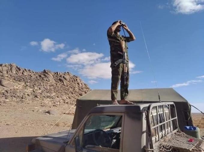 ⭕ URGENTE   El Ejército saharaui destruye un camión y una excavadora que Marruecos desplegó para ampliar el muro militar.