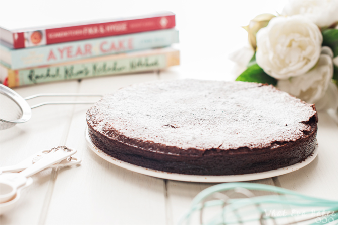 Flourless chocolate cake (tarta de chocolate sin harina)