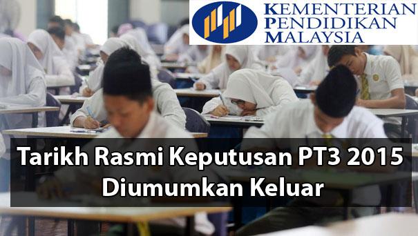 Semakan Keputusan Pt3 2015 Online Sms Luqman Hakim