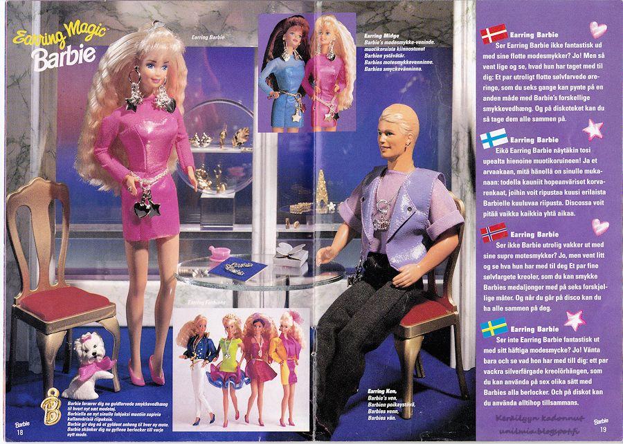 suku puoli sarja kuva Barbie