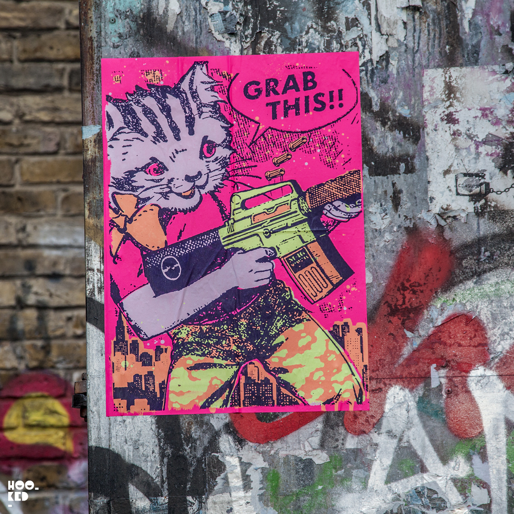 Street Artists Aida Wilde, Donk And Ben Rider hit the Streets of London