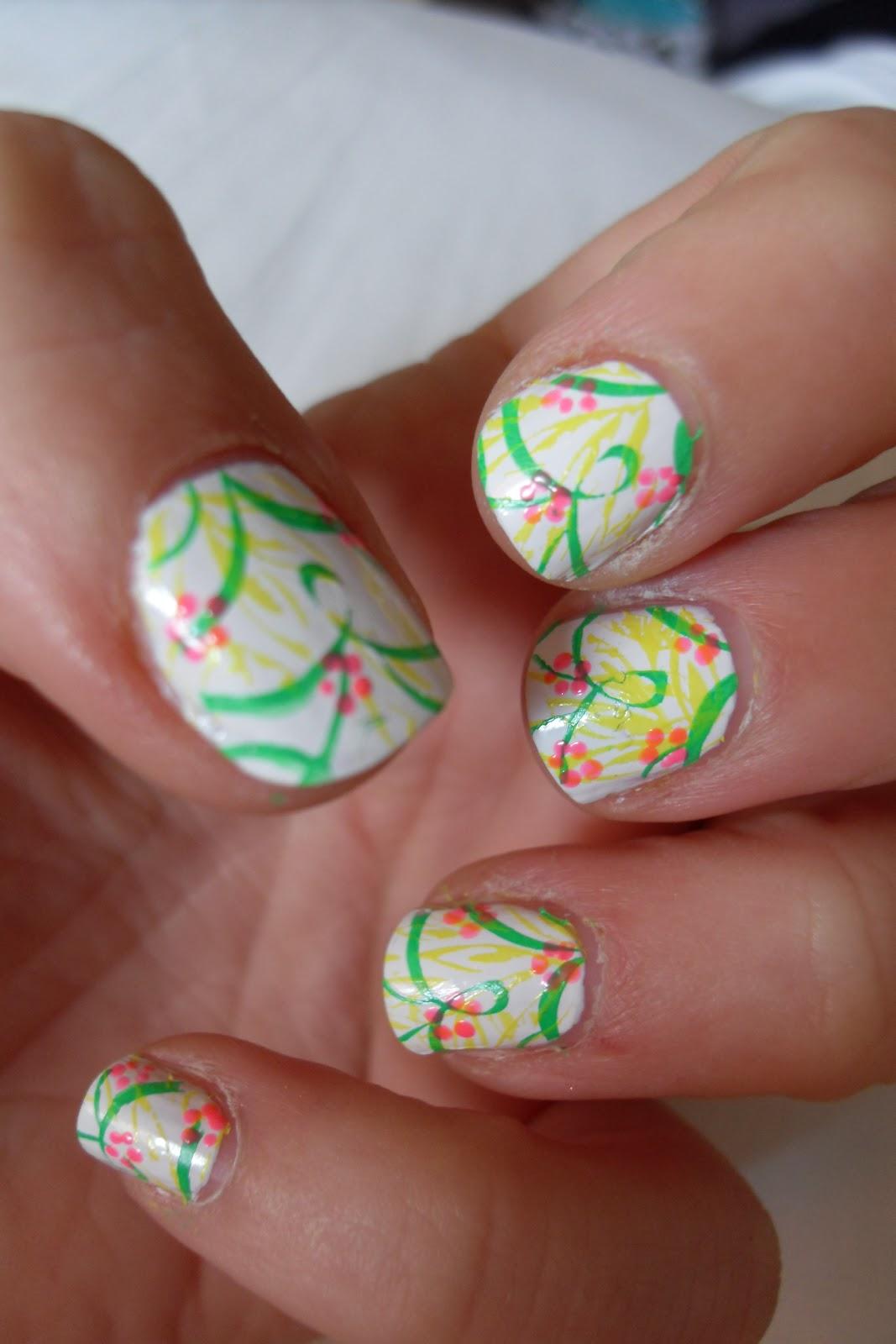 Oooooh Pretty: Tropical Nail Design