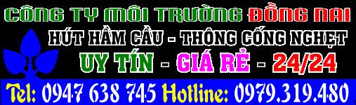 Hút hầm cầu Biên Hoà, Đồng Nai, thông cống nghẹt Biên Hoà, Đồng Nai