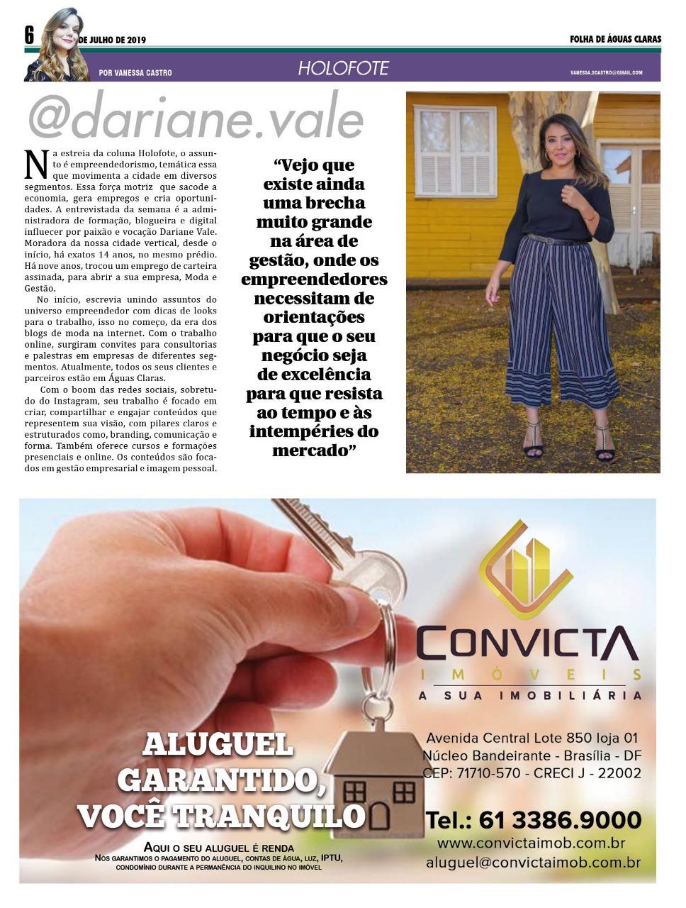 Empreendedorismo feminino em Águas Claras