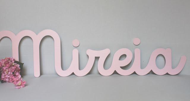 letras y nombres para decorar habitaciones  infantiles