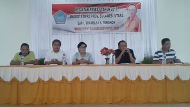 Mantap...!!! DPRD Sulut Lakukan Reses I Tahun 2017