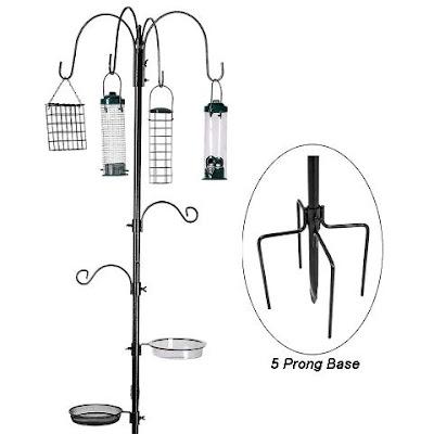 Erytlly Bird Feeding Station Kit Multi-Feeder