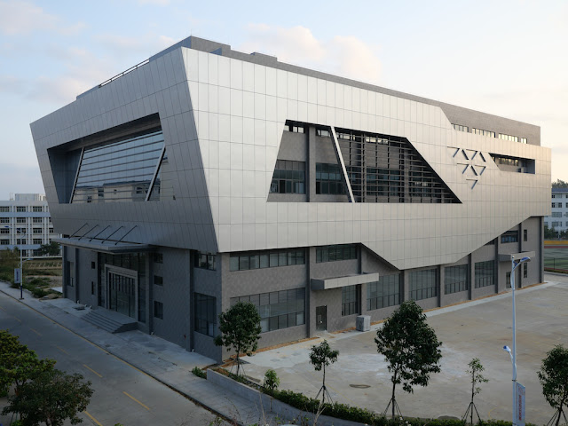 Gymnasium at the Guangdong Nanfang Institute of Technology (广东南方职业学院室内体育馆)