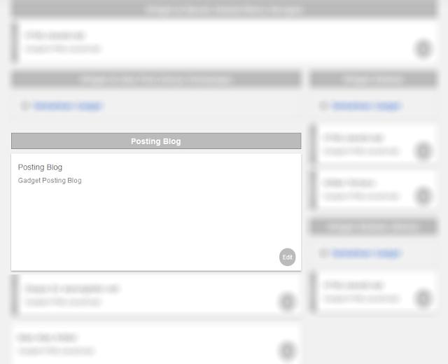 Menghilangkan tanggal postingan blog lewat Tata Letak