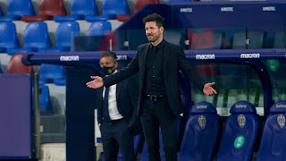 Simeone reveals Atlético's Levante draw not down to title nerves