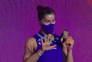 Carolina Marin gana su quinto campeonato de Europa