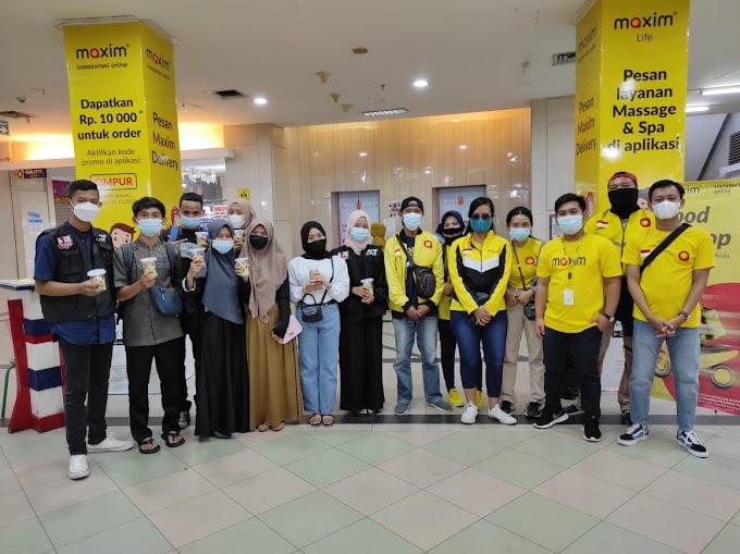 Maxim Transportasi Berkolaborasi Bersama ACT Lampung Adakan Gerakan Berbagi di Bulan Ramadhan