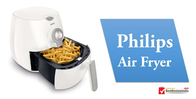 Philips Air Fryer in White Colour.