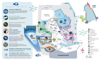 Georgia Aquarium Map