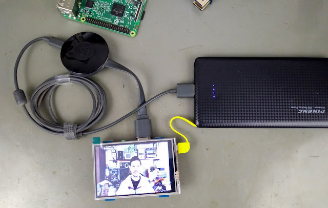 Módulo LCD MPI3508 com Chromecast