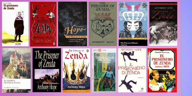 Reseña del libro El prisionero de Zenda, de Anthony Hope.