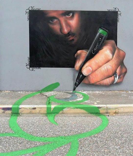 Arte interactivo en las calles de Italia por Caiffa Cosimo.