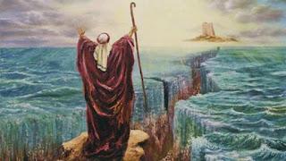 قصة موسى (عليه السلام) في البحر
