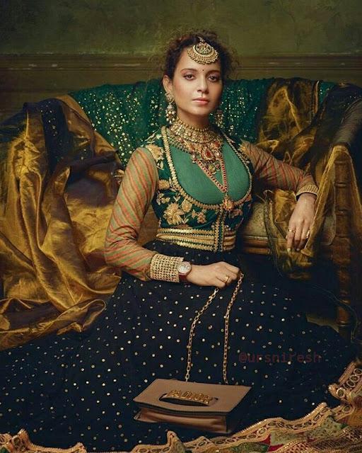 Kangana Ranaut Harper's Bazaar Bride Magazine PhotoShoot 2017
