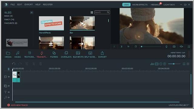 تحميل وتفعيل  Wondershare Filmora 10.0.6.8 عملاق المونتاج وتحرير الفيديو