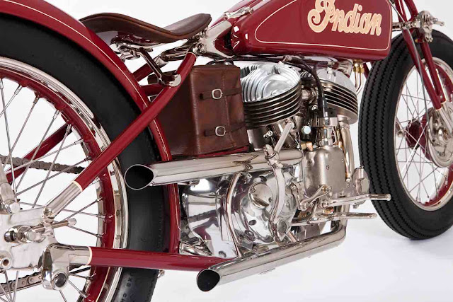 Indian 1941 By The Gas Box Hell Kustom