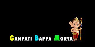 Ganpati Bappa Morya PNG