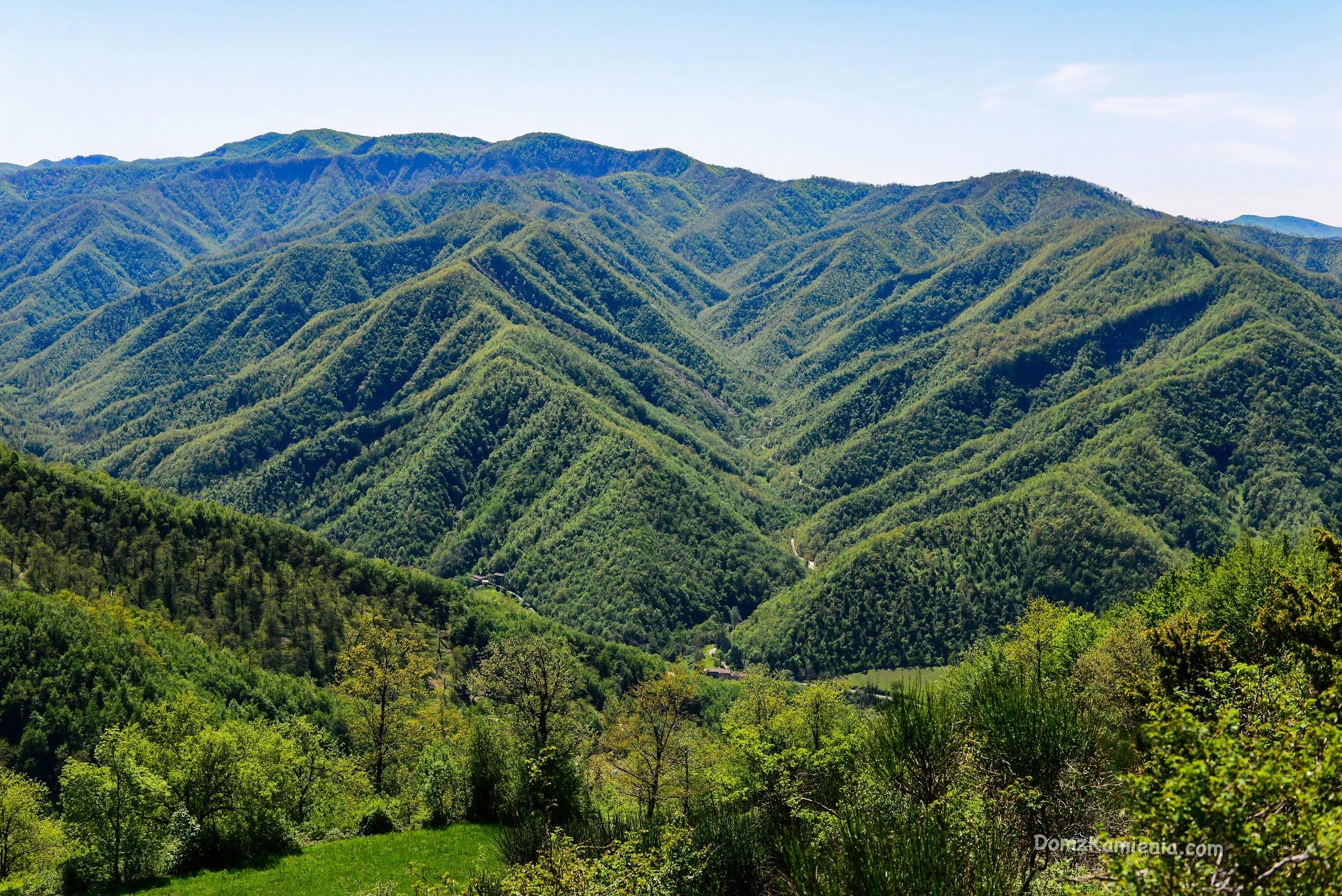 Biforco, trekking w Toskanii, Dom z Kamienia