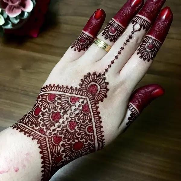pakistani mehndi designs simple