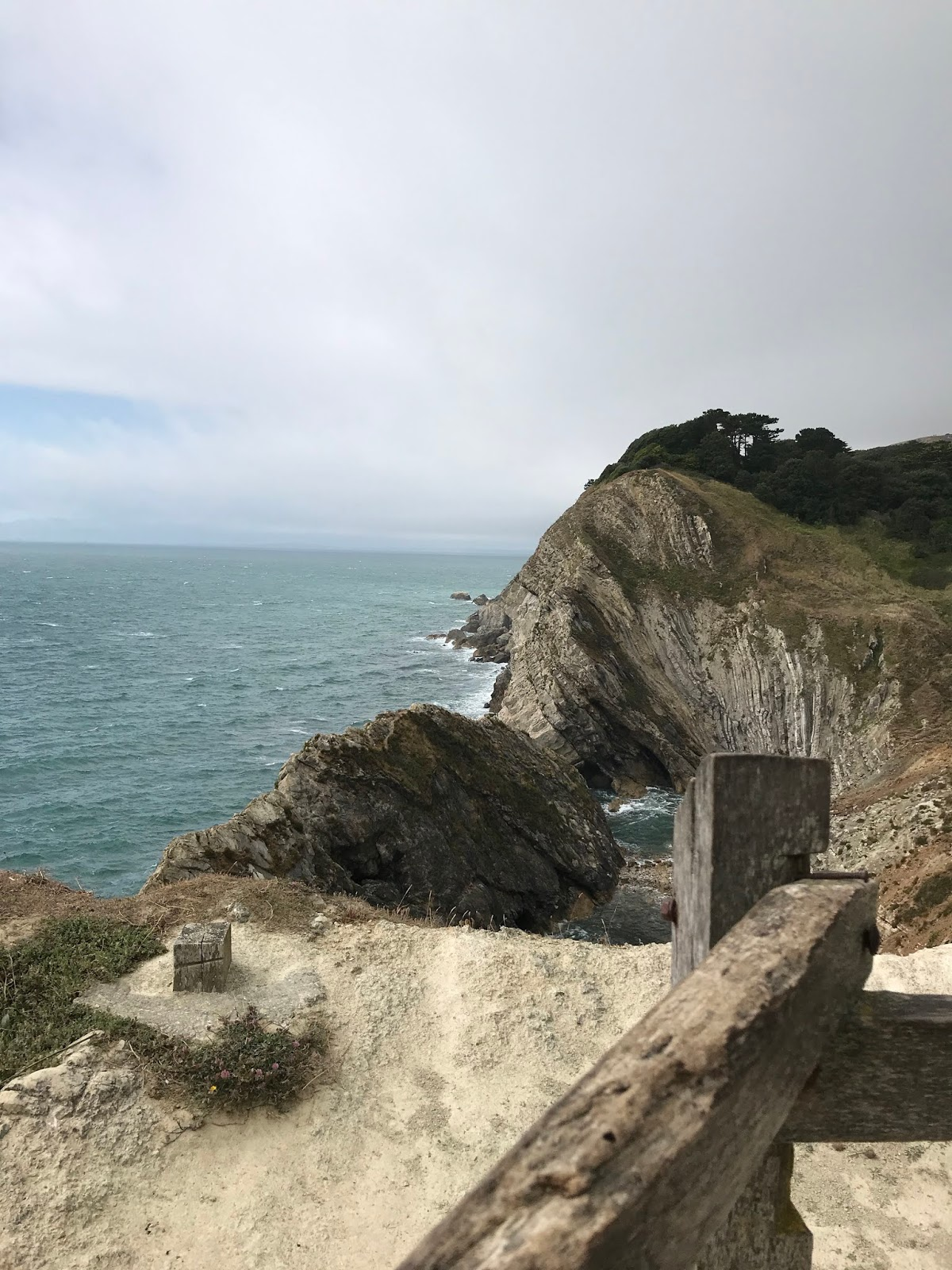 Lulworth Cove \ views \ Stair Hole \ Dorset
