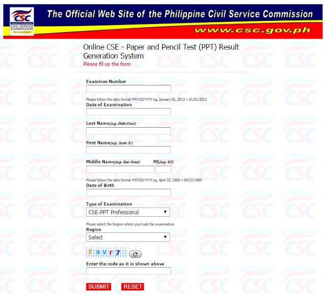 Civil service essay online result april 17 2016