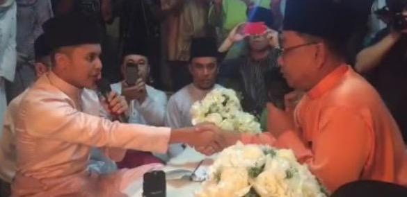 Gambar Sekitar Majlis Pernikahan Hafiz Suip Dan Nureffy