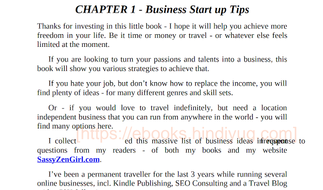 597 Business Ideas You can Start from Home - doing what you LOVE! PDF Download Free