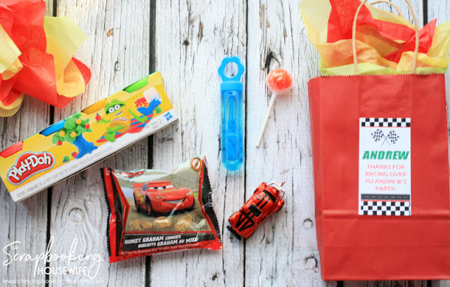 RACE CAR 3RD BIRTHDAY PARTY IDEAS from The Scrapbooking Housewife