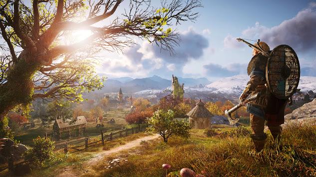 Assassin's Creed Valhalla snapshot from UbiSoft