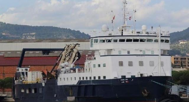 Παράνομη νηοψία Τούρκων σε πλοίο στην κυπριακή ΑΟΖ