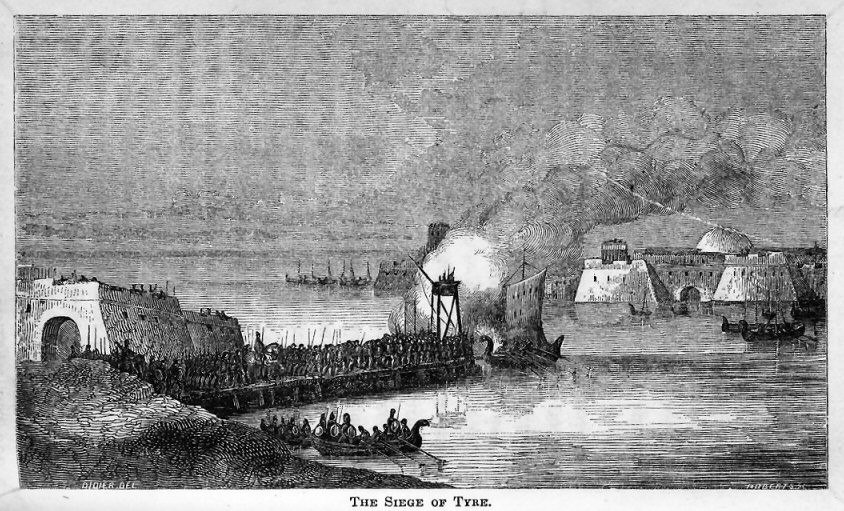 The Siege of Tyre.