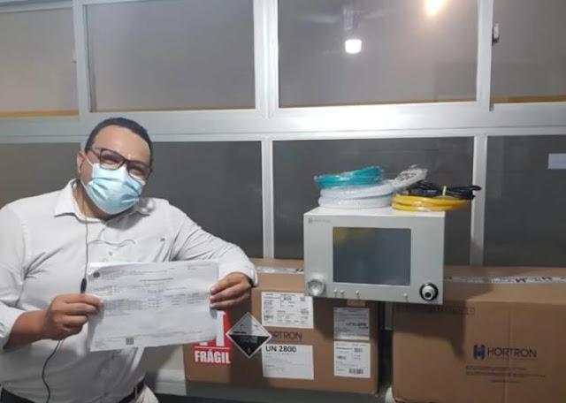 Prefeitura de Ribeirão recebe três respiradores para o hospital municipal