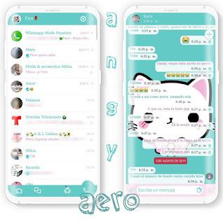 White Cat Theme For YOWhatsApp & Fouad WhatsApp By Angy Fenix