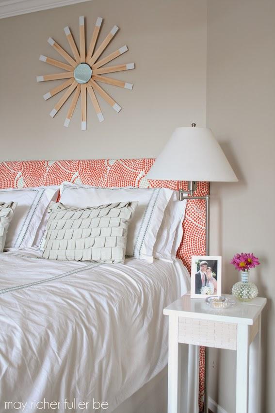 Be Bold Challenge West Elm Wood Tile Inspired Bedside Table