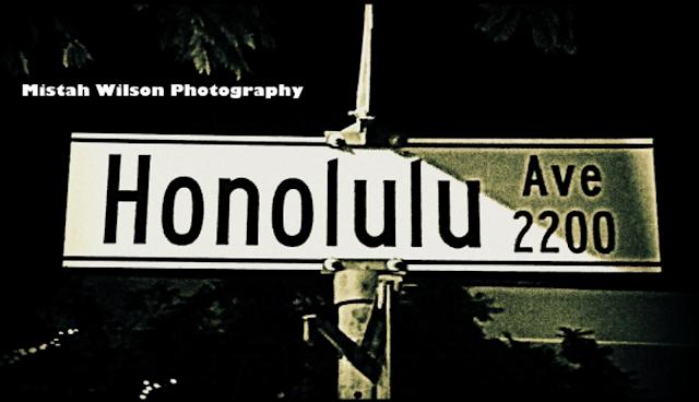 Honolulu Avenue, Montrose, California by Mistah Wilson