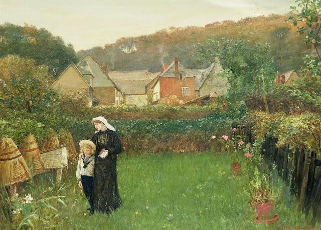 Lukisan karya Charles Napier Hemy (1841–1917)
