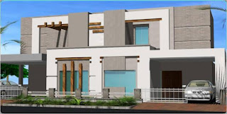 Modern Homes Beautiful Latest Exterior Homes Designs