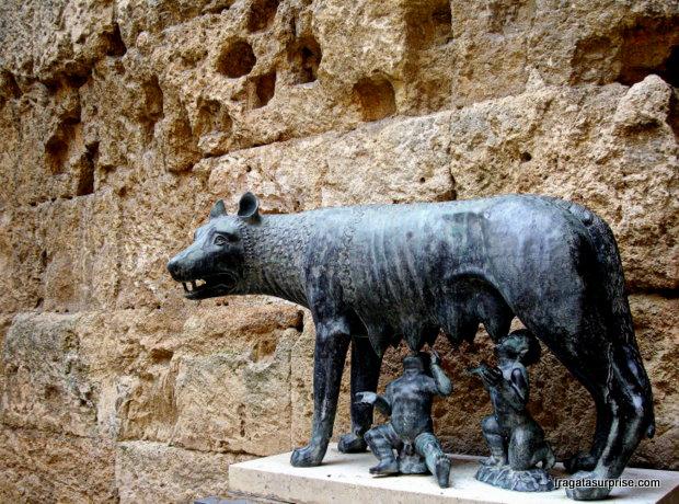 Loba romana - Fórum de Tarragona - Catalunha