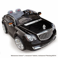 hitam Maybach pliko pk999n battery toy car
