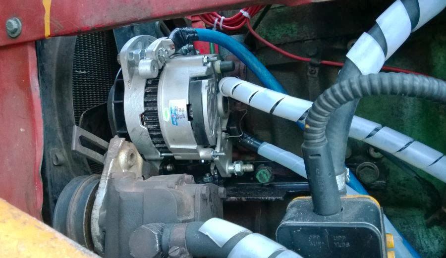 Volvo BM 350, Wehoputs 5 : Volvo BM T350 Boxer traktori